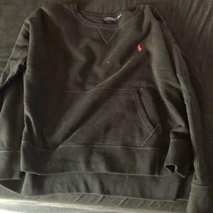 Polo crewneck sweater